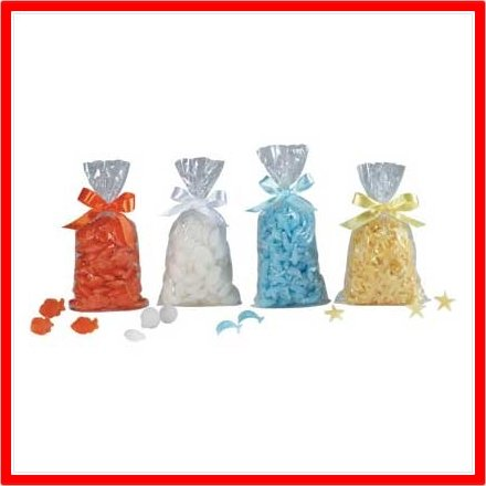 Ocean Shapes Wax Fragrance Chips New