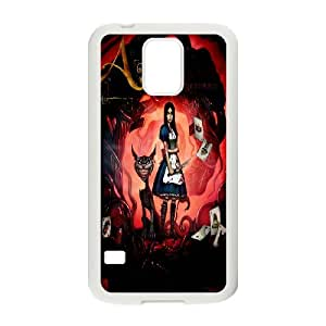 Custom Case Alice Madness Returns for Samsung Galaxy S5 Y7F3438236