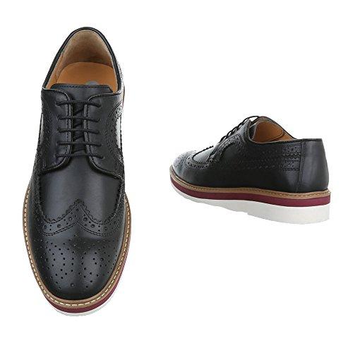 Zapatos azul marino con cordones Bockstiegel para hombre BqkGfV