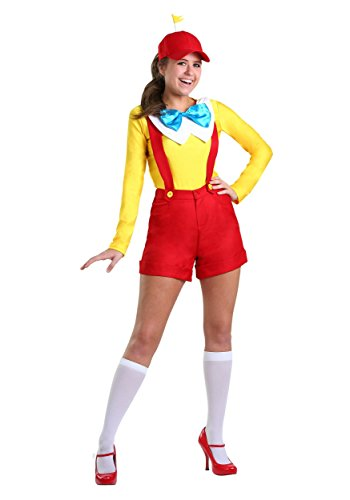 Tweedle Dee And Tweedle Dum Fancy Dress Costume (Women's Tweedle Dee/Dum Costume X-Large)