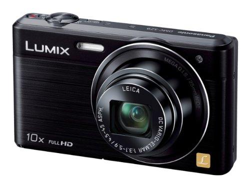 Panasonic digital camera LUMIX SZ9 10x optical black DMC-SZ9-K
