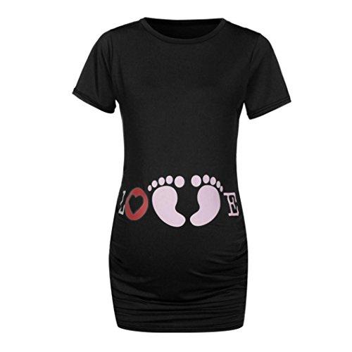 incinta s Amlaiworld ' infermiera Short manica maternit Women PB7Yq1