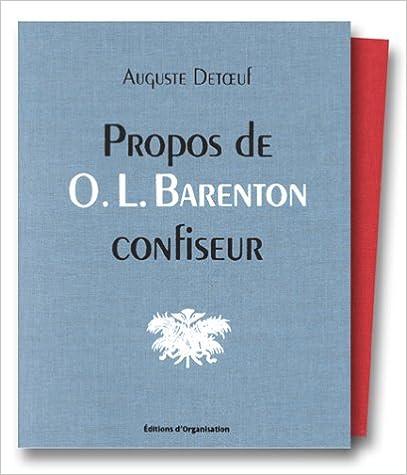En ligne téléchargement Propos de O.-L. Barenton, confiseur epub, pdf