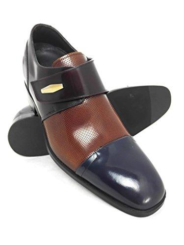 Zapatos Señores 7 Altura De Aumento Dentro De Zerimar Cuero Respirable Cm Creciente Cómodo 0XHxqaE