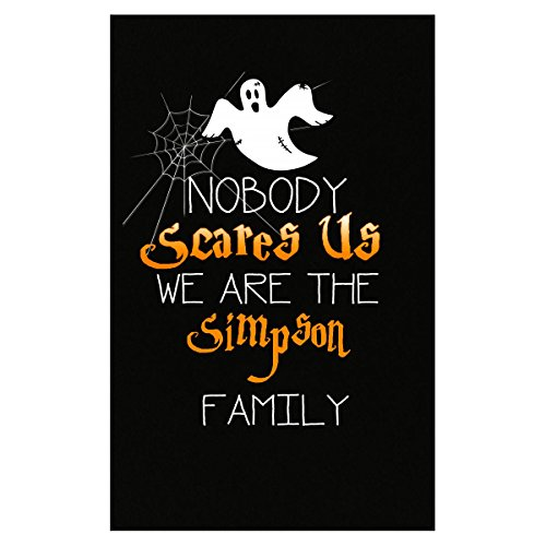 Prints Express Nobody Scares The Simpson Family Funny Halloween - Poster