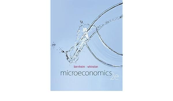 bernheim whinston microeconomics 2012 pdf
