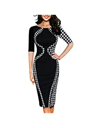Business Dress, Changeshopping Womens Sexy Bodycon Short Sleeve Party Style Pencil