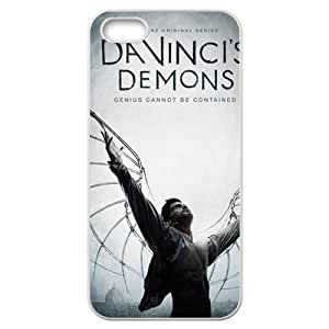 Demons iPhone 5 5S White Phone Case Maverick Fantasy Funny Terror Tease Magical YHNL797813162 Kimberly Kurzendoerfer