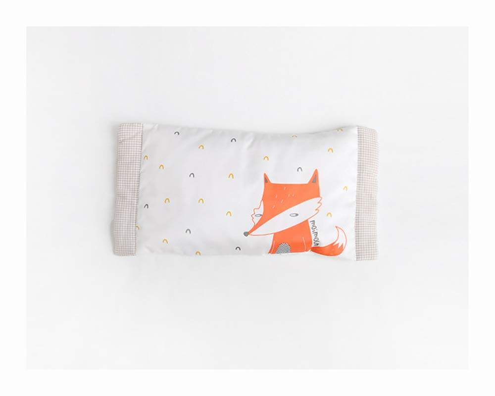 Toddler Pillow, Delicate Organic Cotton Shell,Washable,Provides Great Back & Neck Support for Any Toddler, Kid、 Or Child