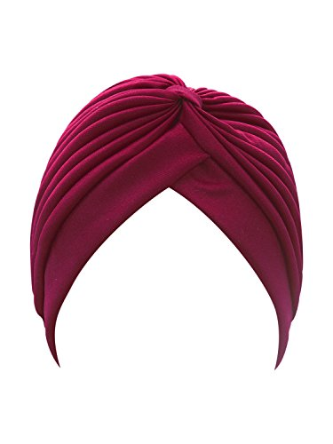 PERSUN Women's Turban Hat (OneSize, Red)]()