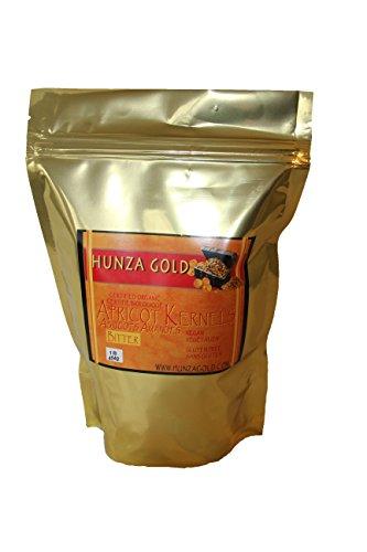 Organic Bitter Apricot Kernels - 16 Ounces (1 Lb) 454 (Apricot Seed Powder)