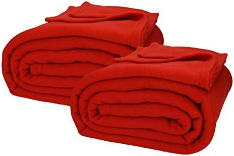 Betz JUMBO Fleece Blanket super soft for sofa or bed Size XXL 220 x 240 cm...