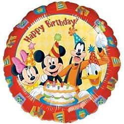 MICKEY MINNIE MOUSE Goofy + Donald Duck 18 Happy Birthday Party Mylar Balloon by Lgp