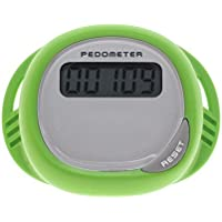eMarto Walking Pedometer Counter Running Activity Fitness Pedometer Tracker (Green)