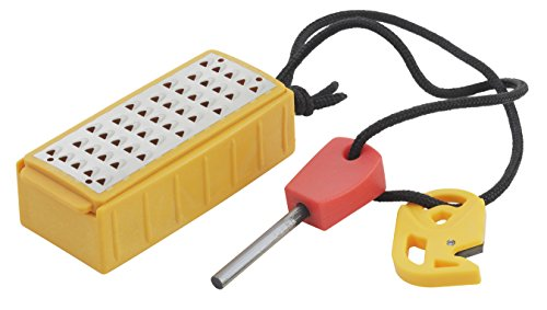 (Smiths 50635 Pack Pal Tinder Maker with Fire Starter)