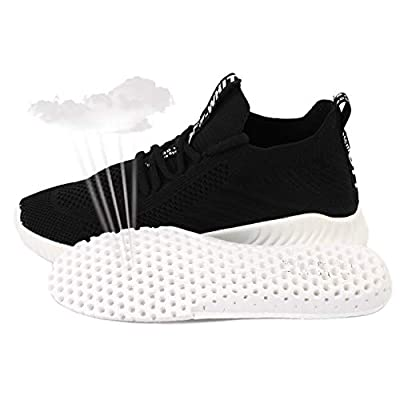 UDOK Women's Athletic Walking Shoes Lightweight 3D Woven Stylish Breathable Casual Mesh-Comfortable Work Sneakers | Walking