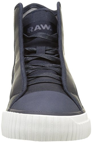 Hi Top Fashion Scuba Mix Navy G Dark Sneaker Men's Star Raw qXwpYga