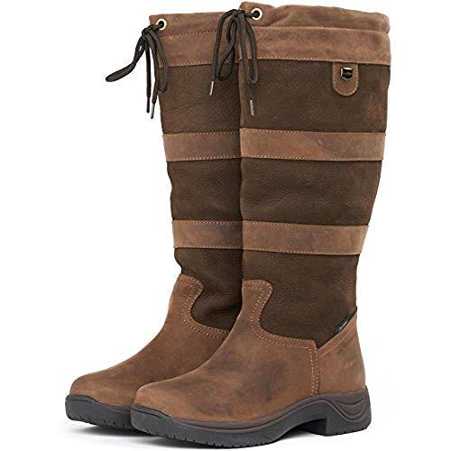Noir Waterproof Dublin River Boots Chocolat wYqqzI