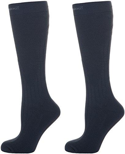 Thermal Winter 20–30 mmHg Graduated Sport Compression Socks for Men & Women
