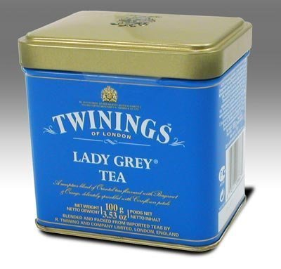 Twinings Lady Grey Loose Leaf Tea, 3.53 oz