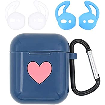 Amazon.com: BLLQ Cute Glossy Cover Case for AirPods AirPod