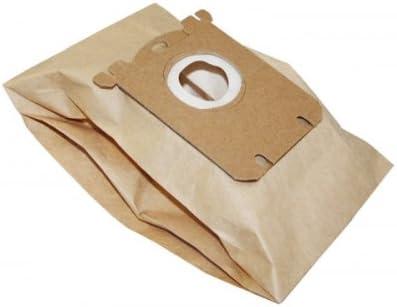 10x Bolsas para aspiradoras papel para Electrolux E15, Clario ...