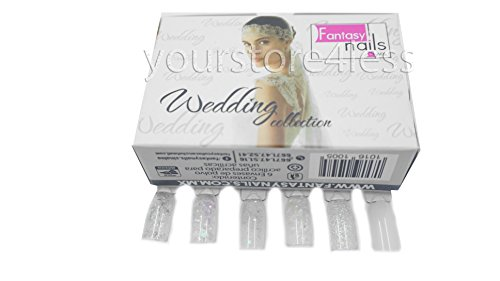Fantasy Nails Sinaloa - WEDDING Acrylic Powder - set of 6 by Fantasy Nails