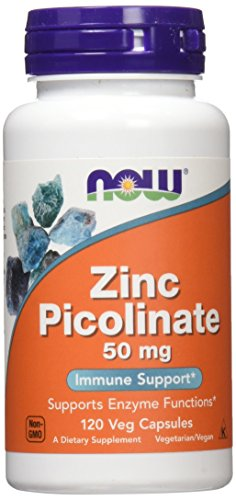 NOW Zinc Picolinate 120 Capsules product image