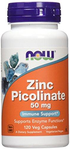 NOW Zinc Picolinate,120 Veg Capsules