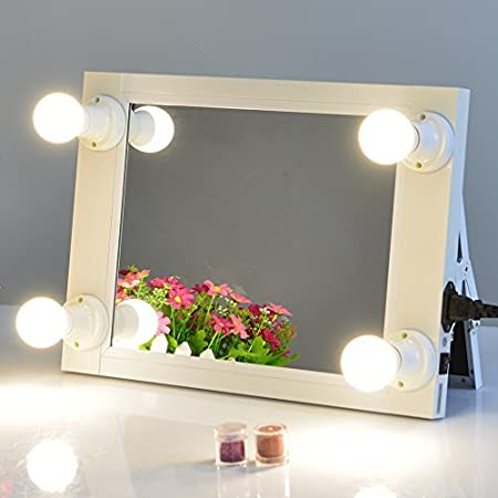 Chende white lighted makeup vanity mirror with light makeup chende white lighted makeup vanity mirror with light makeup dressing table vanity set mirrors aloadofball Gallery