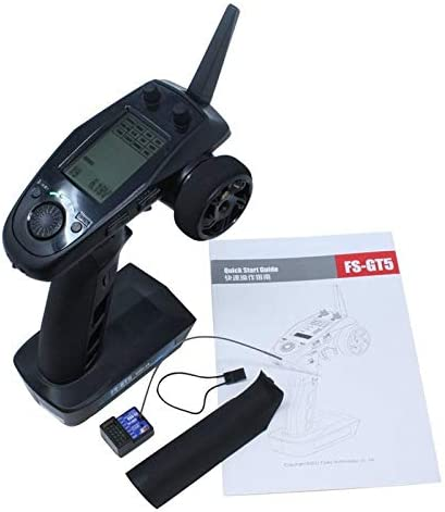 FS-GT5 - Flysky GT5 2.4G 6CH Transmitter with BS6 Receiver Gyro Fail-Safe