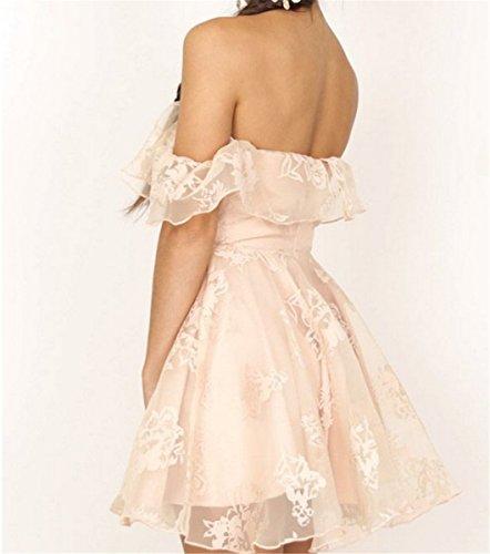 Damen Kleider Abendkleid LOBTY Ballkleid Sleeveless Partykleid ...
