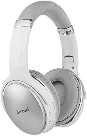 Dozod Bluetooth Over Ear Headphones Stereo Wireless Headphones Deep Bass with Case Foldable Wired Wireless Headphone with Mic
