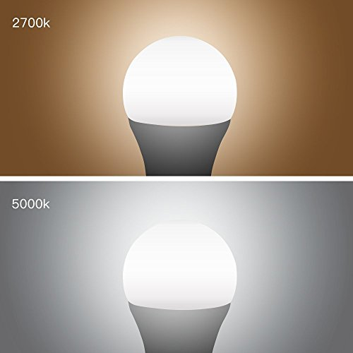 TIWIN LED Light Bulbs 100 watt Equivalent (11W),Soft White (2700K), General Purpose A19 LED Bulbs,E26 Base,UL Listed, Pack of 6 by TIWIN (Image #2)