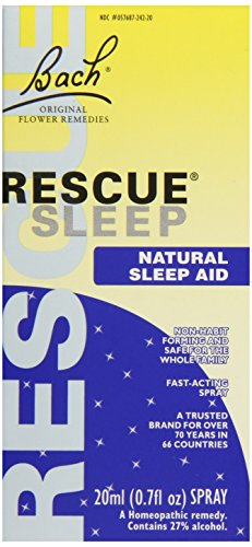 Bach Rescue Remedy Sleep Supplement, 20 ml, 0.7 Fluid Ounce