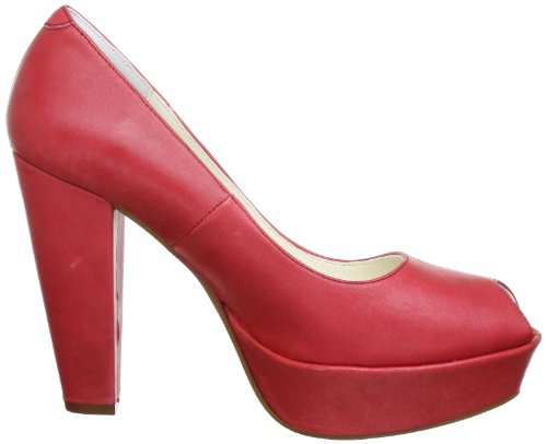 Femme togo Hi W Rouge rot Rot Slippers Siska top Johannes F4BwxvxZ