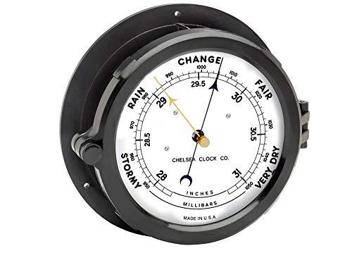 - Chelsea Clock 8.5 Patriot Deck Barometer