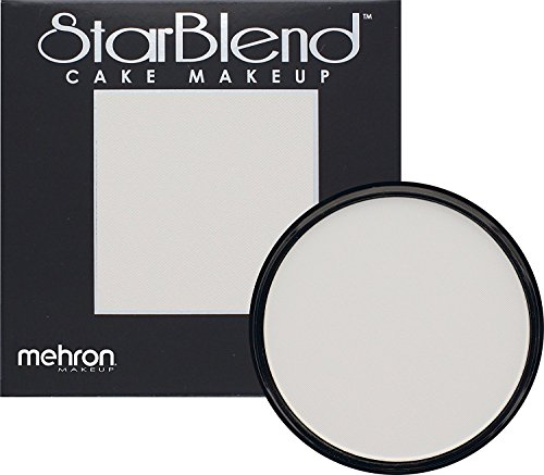 Mehron Makeup StarBlend Cake Makeup MOONLIGHT WHITE - 2oz