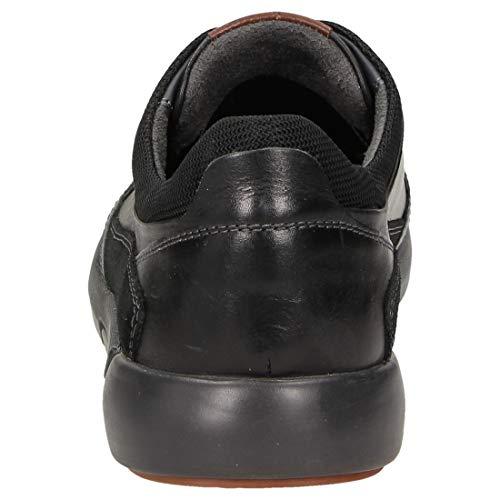 Schwz Runario Schwarz Schwarz 000 700 Sioux Herren Sneaker Black Ban00P4