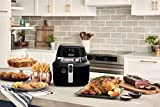 De'Longhi Rapid Crisp Air Fryer, 5-Quart, 1700-Watt XL Cooker, Fries, Crisps, Roasts, Bakes, Pizza Setting, 5 Preset Functions, up to 20% Faster Cooking, Easy Clean Nonstick, 360° Viewing, FH2394