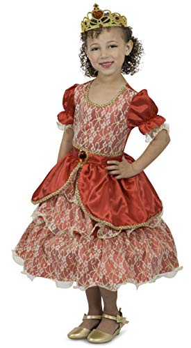Princess Paradise Queen Anastasia Costume, Small