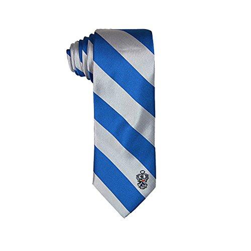 Sigma Tau Gamma Sorority Necktie Tie Greek Formal Occasion Standard Length Width Hanky Pocket Square (Stripped Crest Necktie)