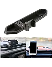 Ruien Multifunctional Car Phone Holder Can Rotate 360 ??Degrees with Center Console Storage Box Function Compatible with Jeep Wrangler JL 2018 2019