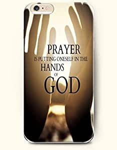 iPhone Case,OOFIT iPhone 6 (4.7) Hard Case **NEW** Case with the Design of prayer is putting oneself in the hands of god - Case for Apple iPhone iPhone 6 (4.7) (2014) Verizon, AT&T Sprint, T-mobile
