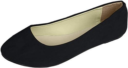 Ladies Slip On Flat Comfort Walking