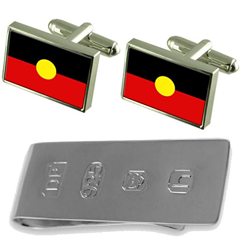 Cufflinks Peoples Money Aboriginal Bond Clip Flag Peoples Aboriginal amp; James v8IwWqE