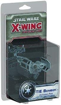 Star Wars X-Wing: Tie Bomber Expansion Pack: Fantasy Flight Games: Amazon.es: Juguetes y juegos