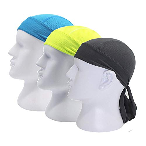 Doo Rag Skull Cap Cycling Headwrap Running Head Wrap Motorcycle Biker Cap Hat Helmet Liner
