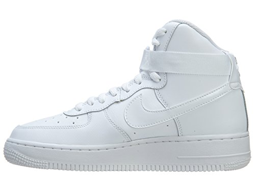 Nike Air Force 1 Mid 06 314195 Jungen High-Top Sneaker Bianco