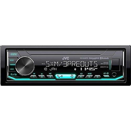 JVC KD-X350BTS 1-Din Car Digital Media Bluetooth Receiver USB/iPhone/SiriusXM